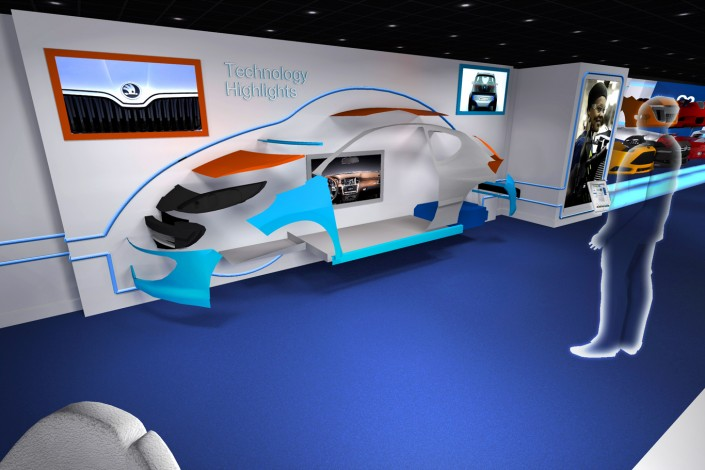 Plastic Omnium - ShowRoom - 2014 -Agence HavasEvents