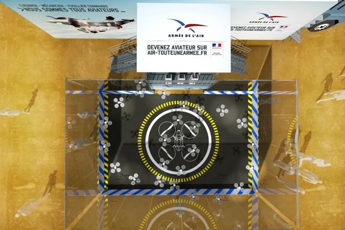 ARMEE DE L'AIR - RoadShow - 2013 - Agence: HavasEvents