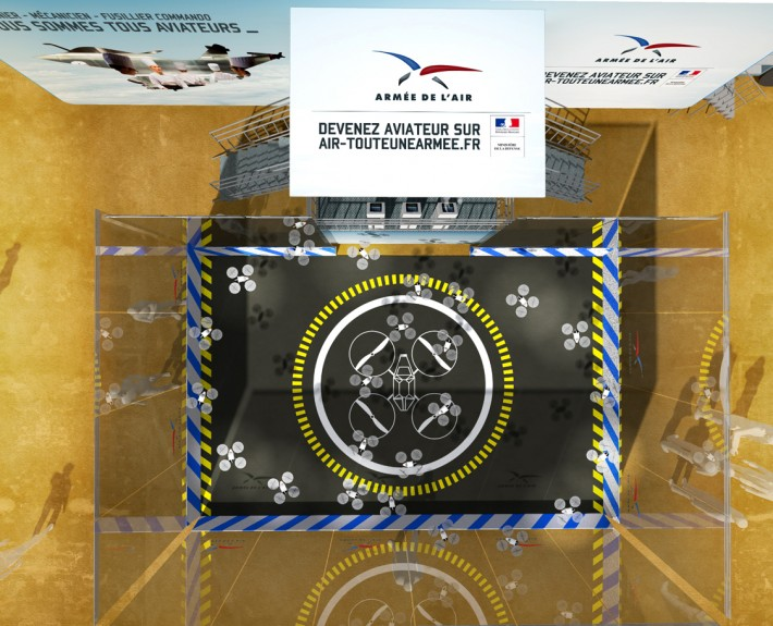 ARMEE DE L'AIR - RoadShow - 2013 - Agence: HavasEvent