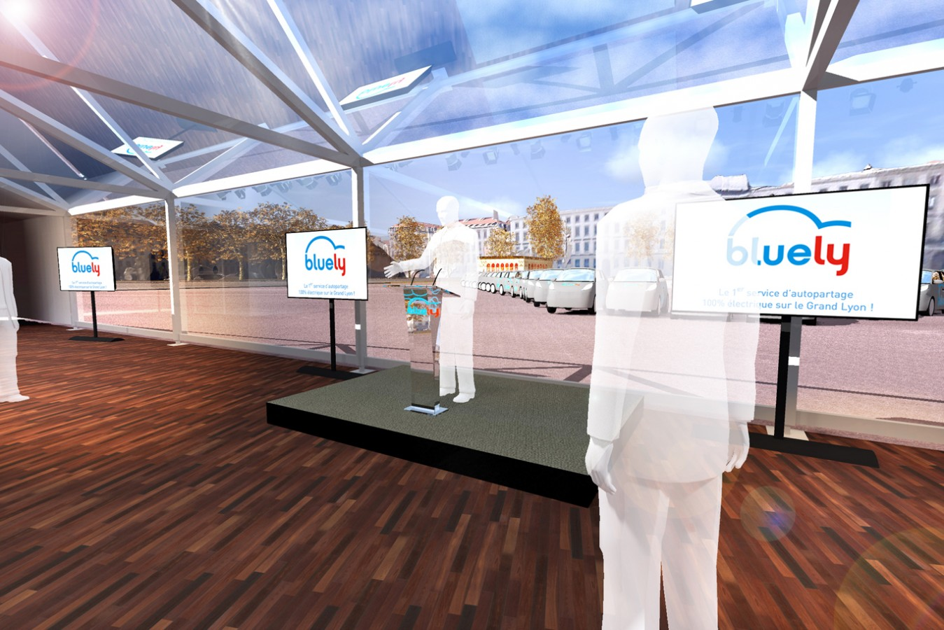 AUTOLIB - Inauguration - 2013 - Agence: HavasEvent