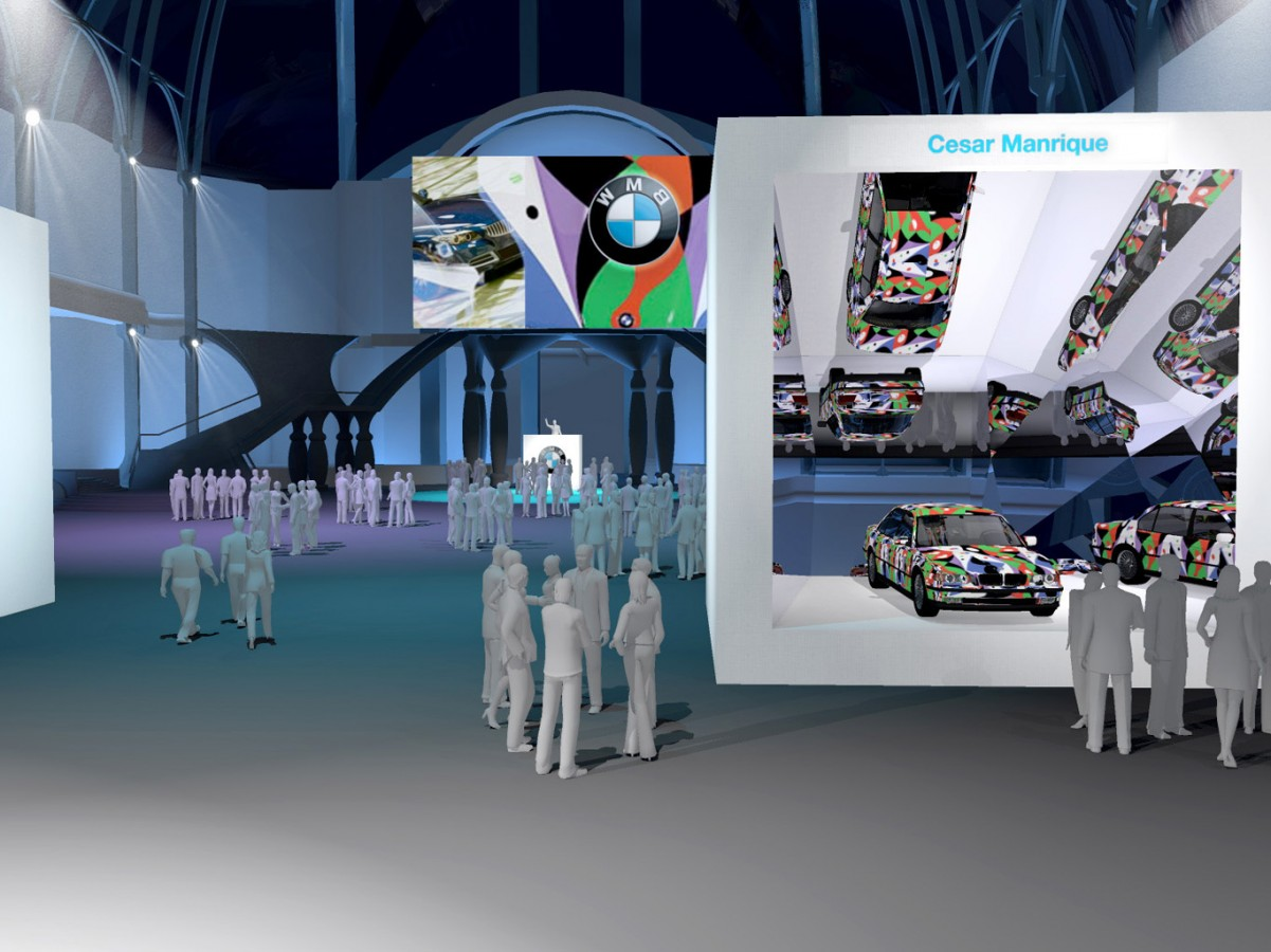 BMW - Exposition Art Car - 2011 - Agence HavasEvent