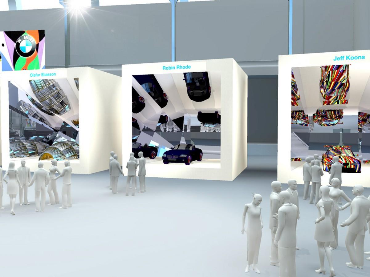 BMW - Exposition Art Car - 2011 - Agence HavasEvent