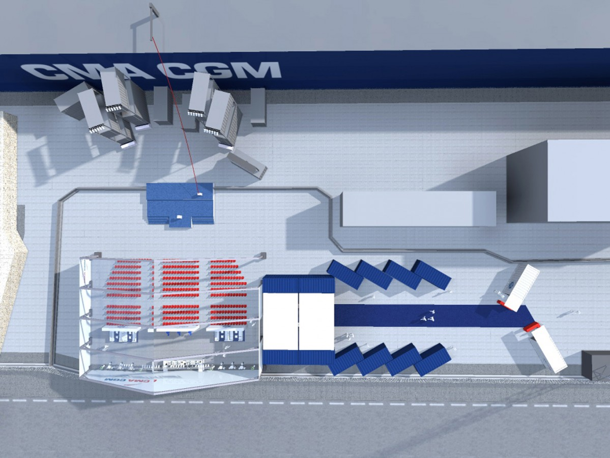 CMA CGM - Inauguration - 2013 - Agence : HavasEvent