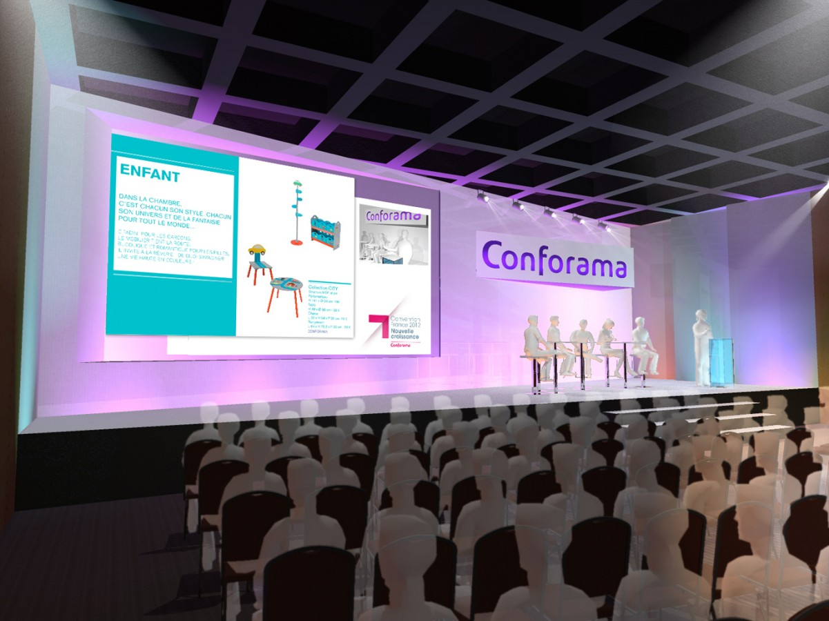 2012 - CONFORMA - Convention - *Agence : HavasEvent