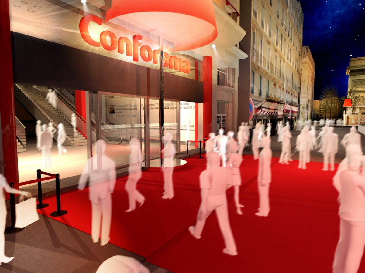 CONFORAMA - INAUGURATION MAGASIN - 2012 - Agence HavasEvent