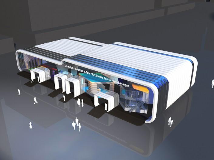 EDF - Expo BLEU CIEL - 2011 - Agence HavasEvents