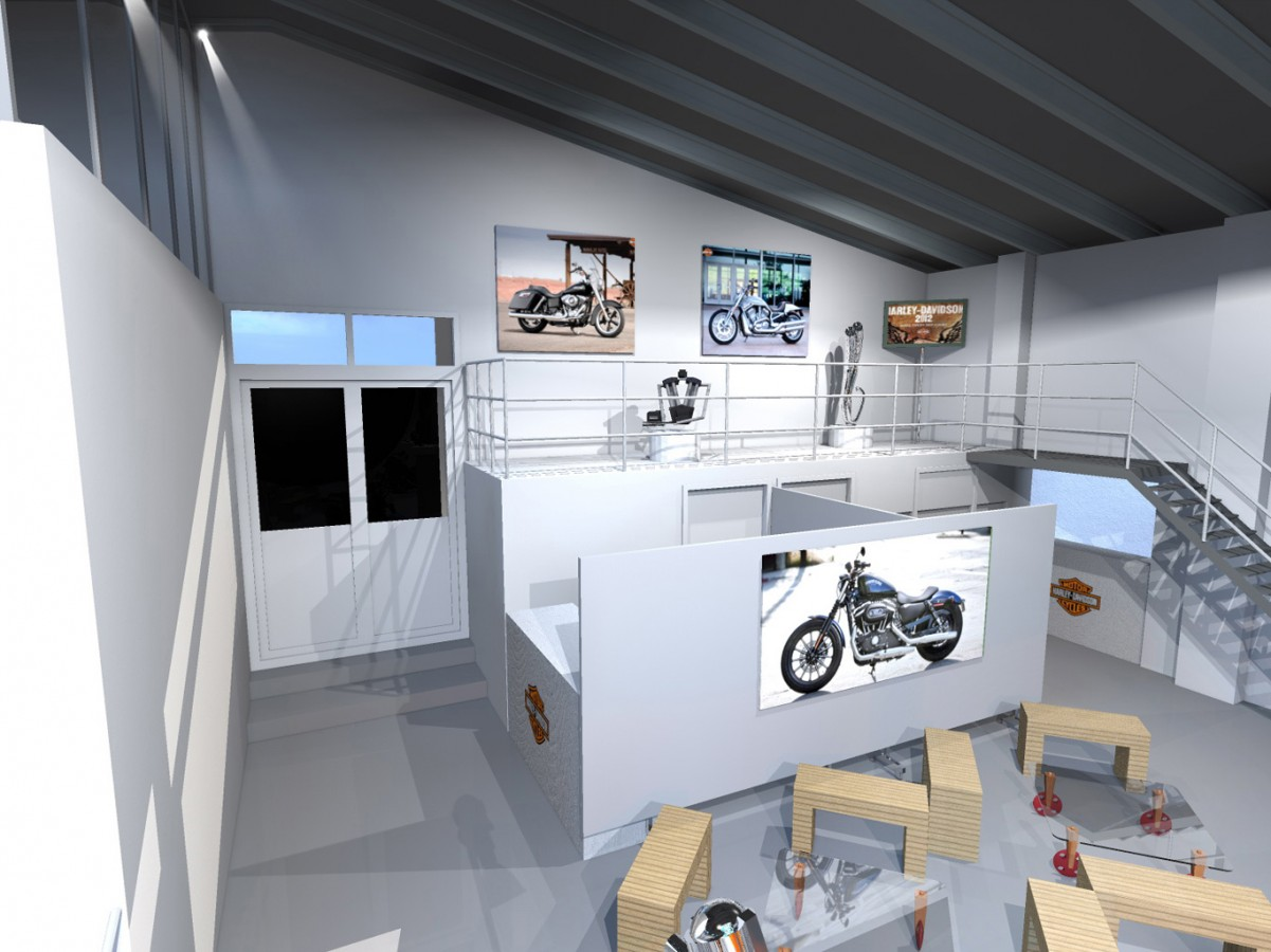 2011 - HarleyDavidson - Présentation nouveaux modèles - Agence HavasEvent
