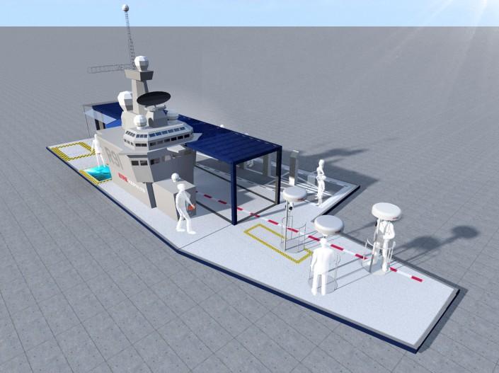 Marine Nationale - RoadShow - 2013 - Agence : HavasEvent