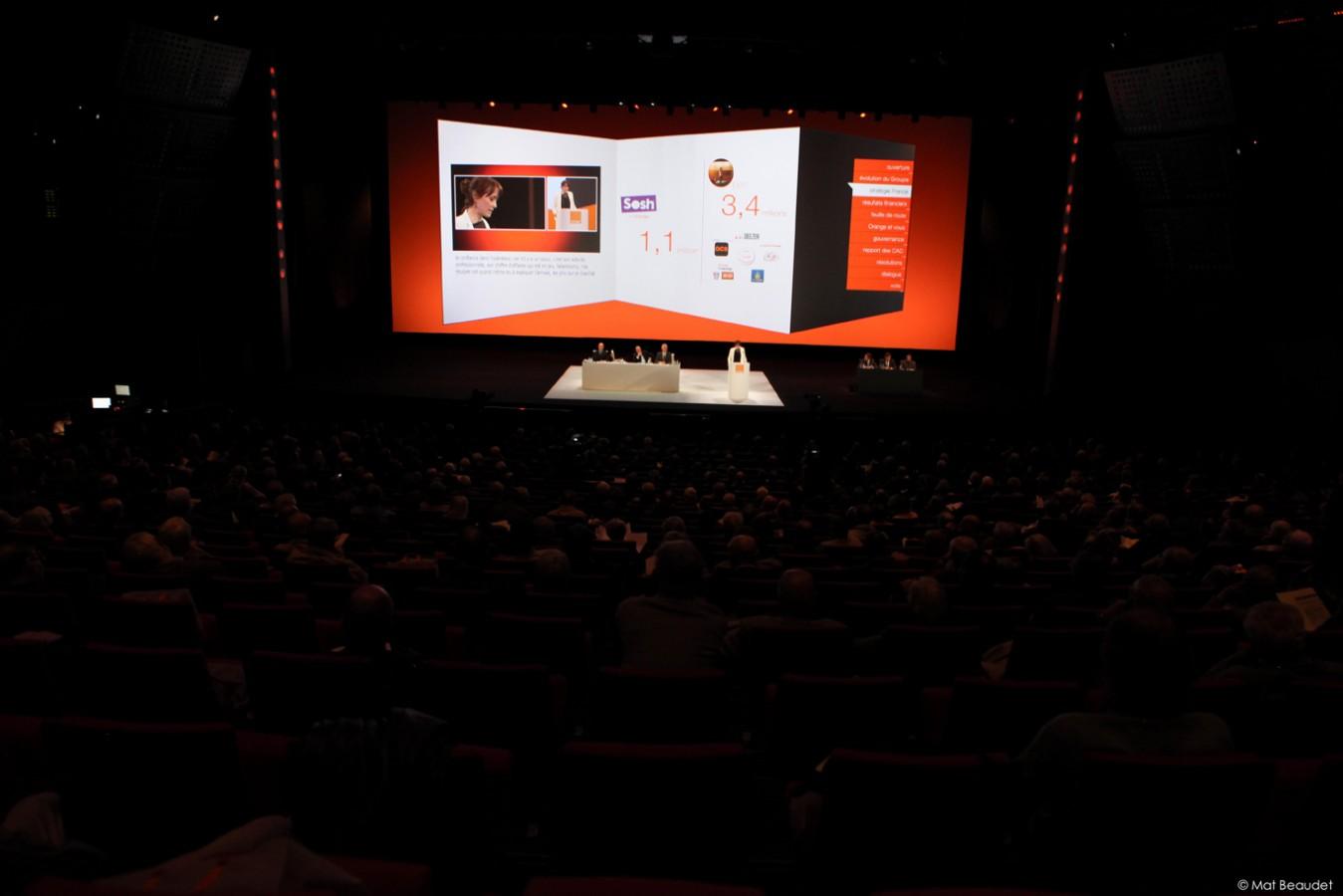 Orange - Assemblée Générale - 2013 - Agence HavasEvent