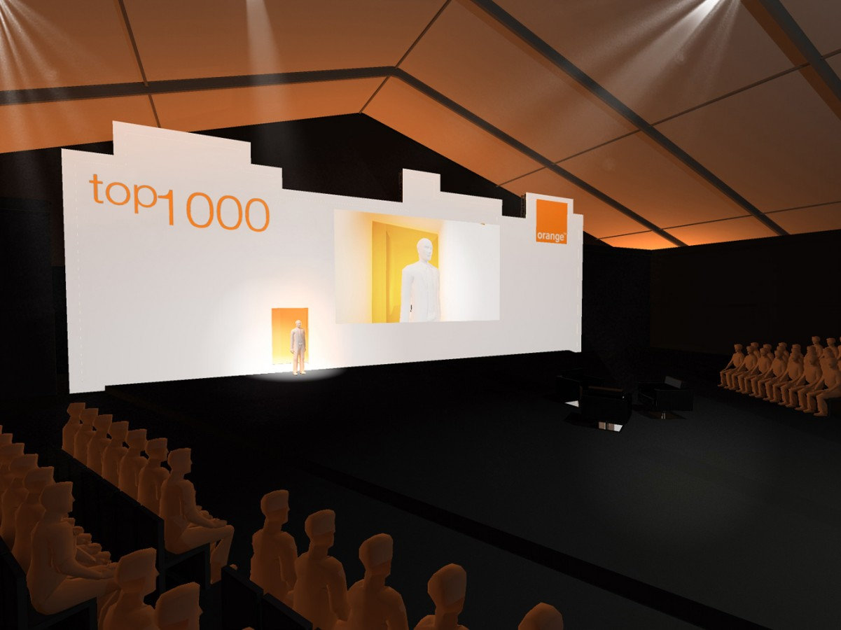 2011 - ORANGE - Convention TOP 1000 - ¤Agence: HavasEvent