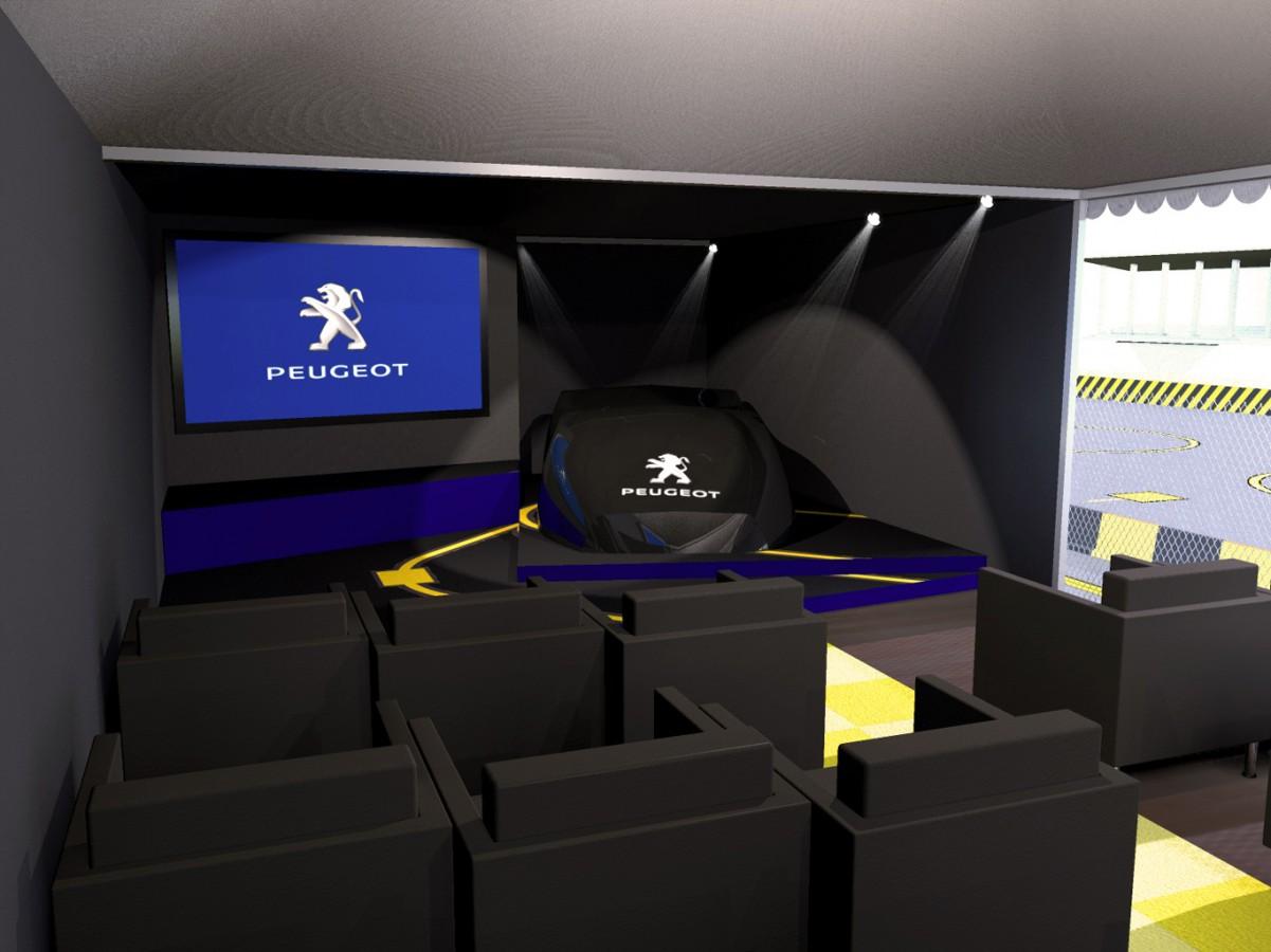 2010 - Peugeot - Conférence de Presse - Record de Vitesse - Agence HavasEvent