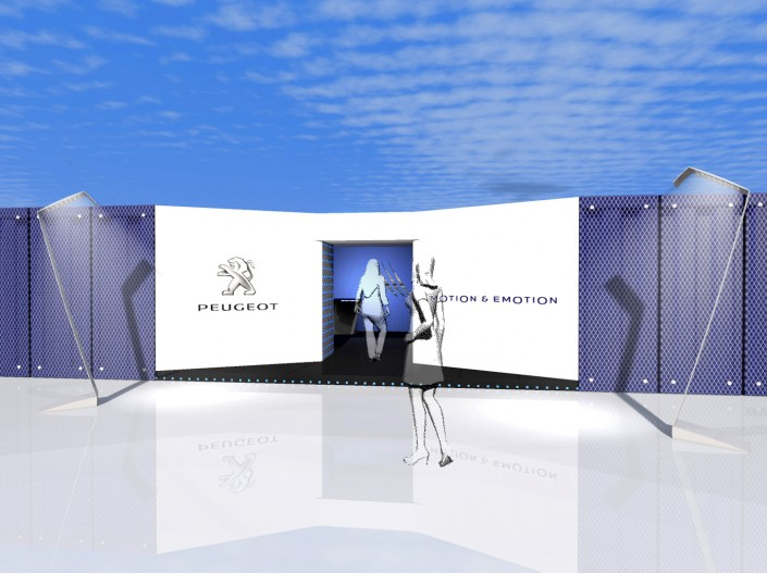 PEUGEOT - RoadShow Design - 2011 - Agence HavasEvents