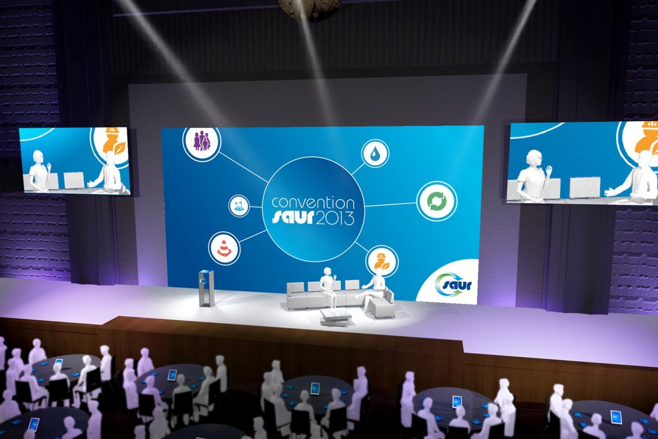 SAUR - Convention - 2013 - Agence : HavasEvent