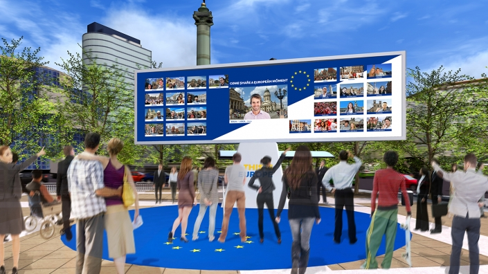 Europe-Projet Mega Borne Interactive- 2017-Agence HavasEvents