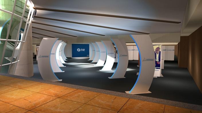Dassault System - 3D Experience - 2018 - Agence Lever de rideau